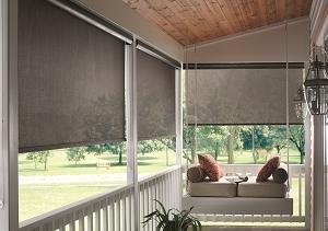 Exterior Solar Screens in Huntington Beach, CA | Window Treatments